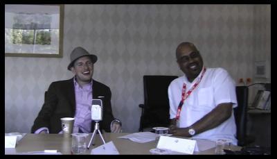 Matt Mullenweg and Mike Little interview screen shot