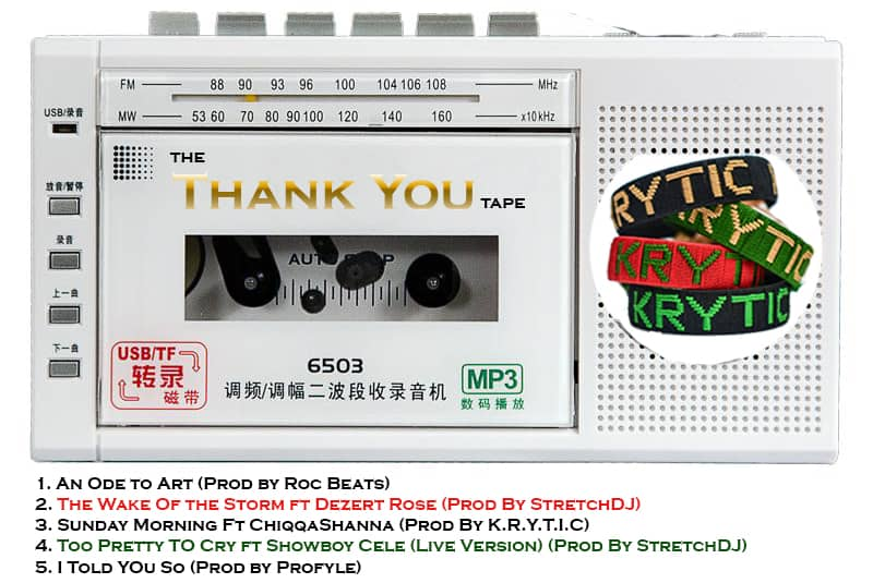 KRYTIC - The Thank You Tape