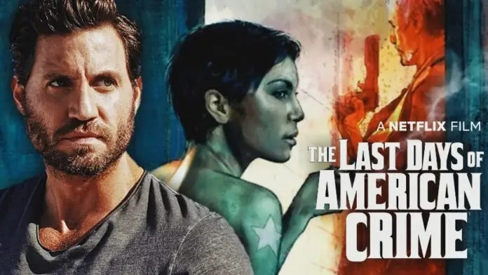 Ramirez and Anna Brewster in The Last Days Of American Crime