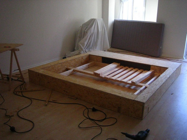 DIY How To Make A 5000 Platform Bed From Scratch
