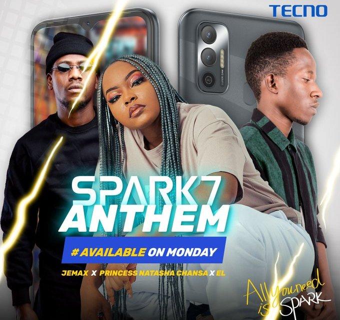 Natasha Chansa ft. Jemax - Spark 7 Anthem Mp3