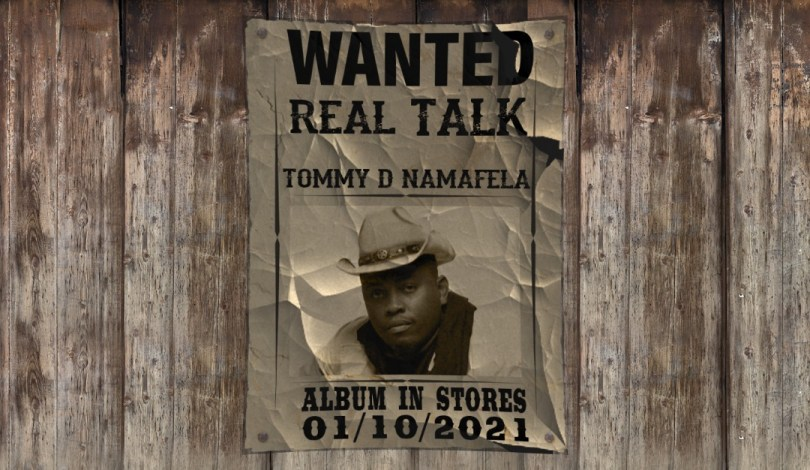 Tommy D's Real Talk Album Drops On 1st October