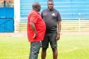 George Lwandamina at Nyayo National stadium ahead of Kenya -Zambia game