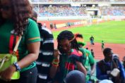 Zambian football fans