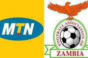 MTN Football association of Zambia logo
