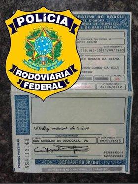 CNH falsa em obtidxa em Marabá
