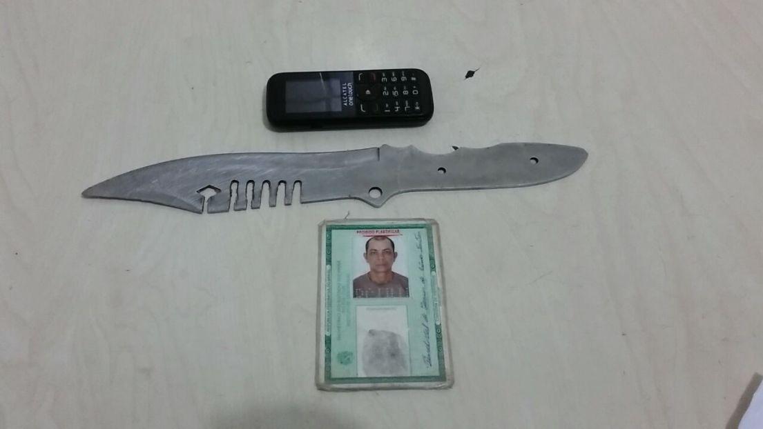 Tantativa de homicídio - faca