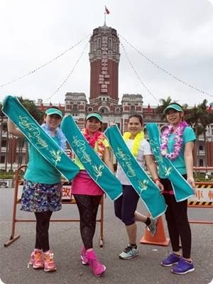[2016]RUN 04。2016 Mizuno Lady's Running(12.5K)-白成一團一起跑