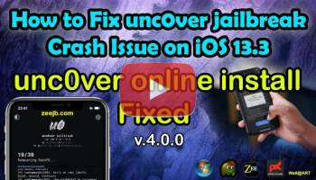 Some newer devices are currently incompatible with tweaked apps and unc0ver jailbreak v4.0.0 Online installation. Therefore, some users cannot properly jailbreak their devices.