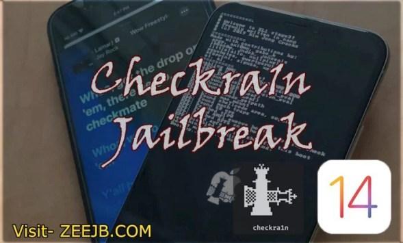 iOS 14.2 checkra1n jailbreak steps guide.