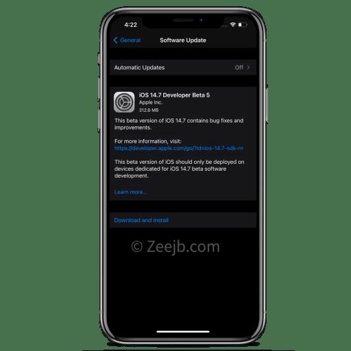iOS-14.7-developer-beta-5
