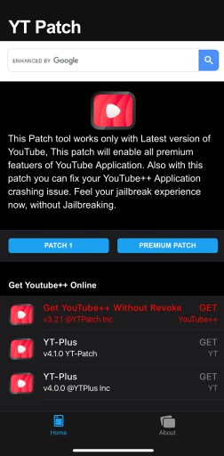 youtube patch