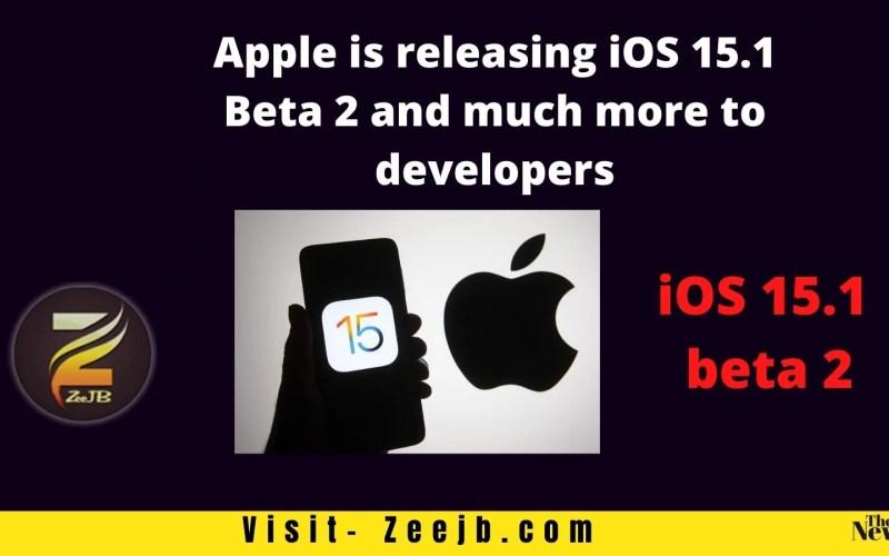 ios 15.1 beta 2 online