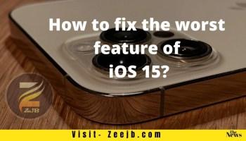 APPLE How to Fix iOS 15