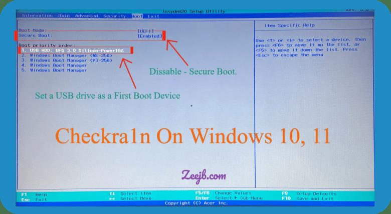 iOS 14.7 checkra1n jailbreak windows guide. step by step.