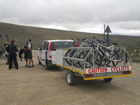 Garden Route Transfers for Cyclists