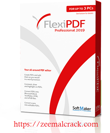FlexiPDFProfessional 2019 Crack