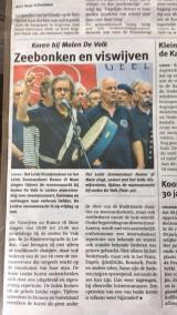 Leids Dagblad Rumor di Mare optreden Museumnacht