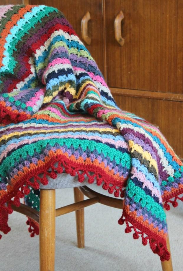 SoL Inspired crochet blanket.