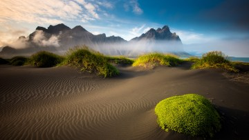 Iceland Reykjavik Mountain 4K Widescreen Wallpaper for Android Mobile