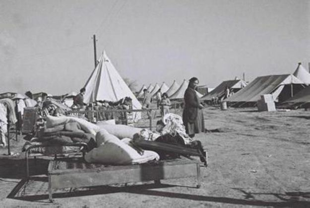 jewish-refugee-camp