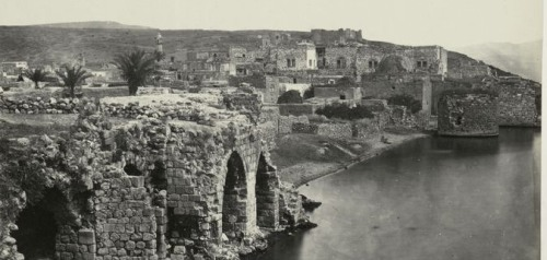 כך נראתה טבריה ב-1862 - 20 שנה לפני העליה הראשונה