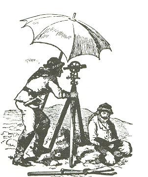 כך ערכו מדידות למיפוי במאה ה-19