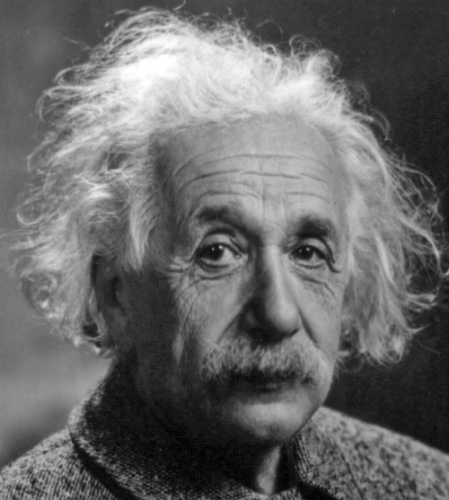 אלברט אינשטיין מגדולי המדענים בכל הדורות. (ויקישיתוף)