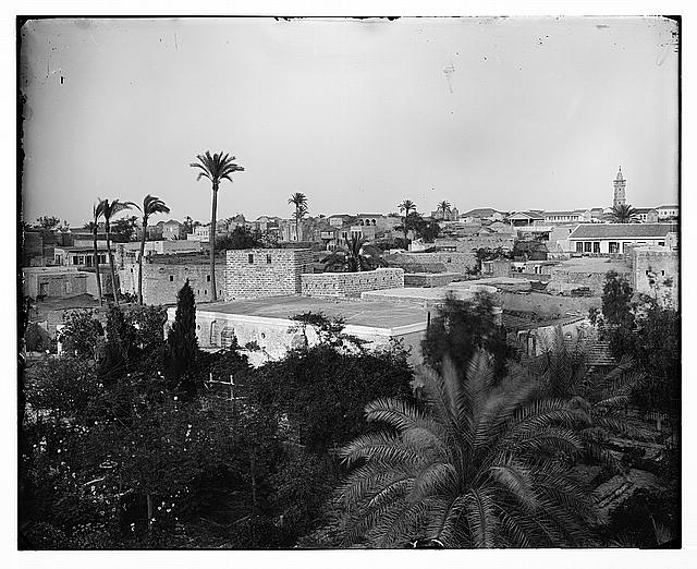 עזה, עיירה ישנונית בראשית המאה העשרים