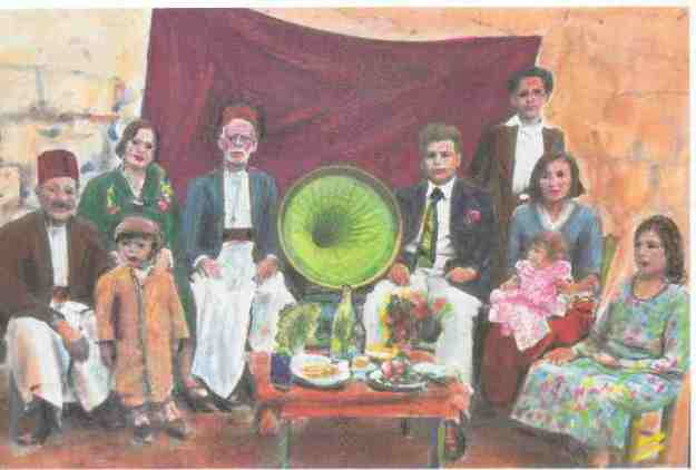 חאלב משפחה משנות הארבעים