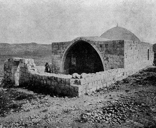 קבר יוסף מראשית המאה ה-19