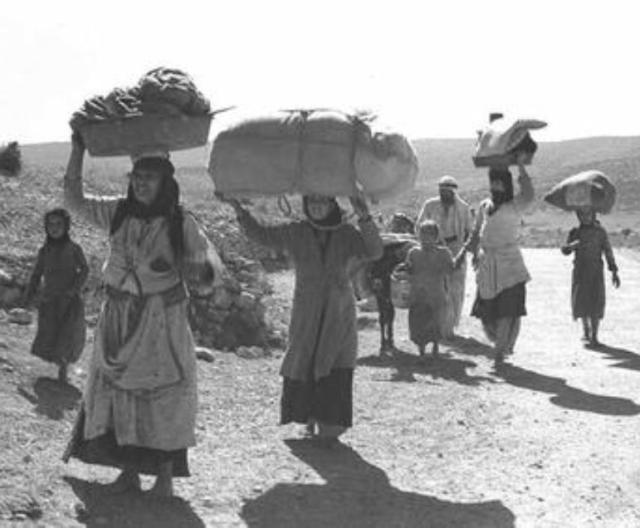 ערביי יפו נמלטים מהעיר 1948
