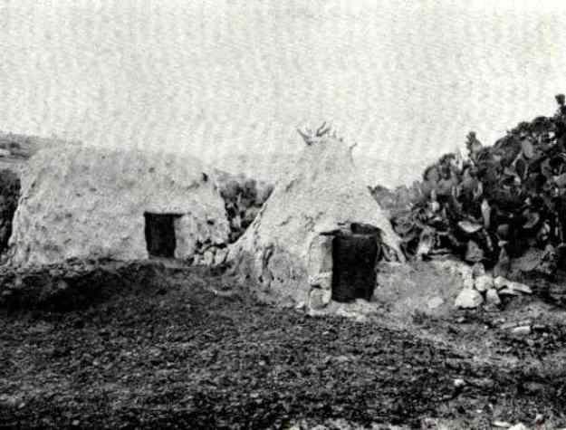 כפר ערבי לרגלי הר תבור 1877
