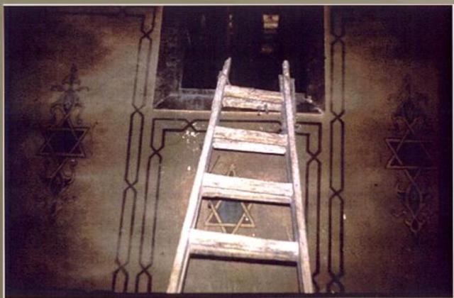 הכניסה לגניזה צילום משנת 1896