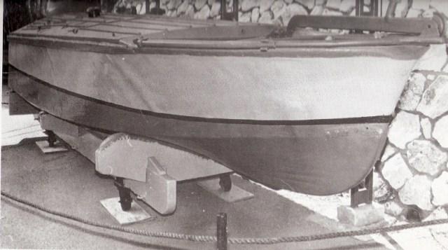 דגם של ספינת יוחאי