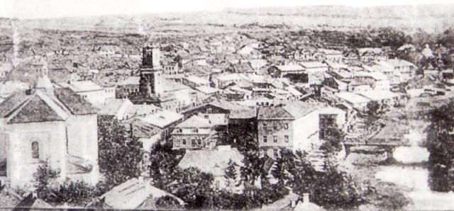 העיירה בוצ'אץ כפי שנראתה בזמנו של עגנון