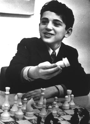 גארי קספרוב בילדותו ויקיפדיה אנגלית