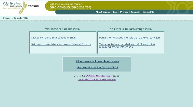 [Original Census] This is what people see when they visit the current census start page (stark and kinda 1999-esq.)