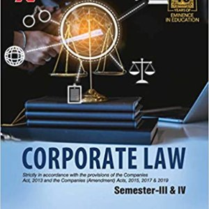 Corporate Law for Sem III & IV (B.Com. – II) by Ashok Sharma