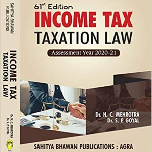 Income Tax (Taxation Law) A.Y 2020-21