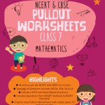 Oswaal NCERT & CBSE Pullout Worksheets Class 7 Mathematics Book (For 2021 Exam)