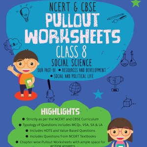 Oswaal NCERT & CBSE Pullout Worksheets Class 8 Social Science Book (For 2021 Exam)