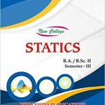 New College Statics For B.A./B.Sc. II (3rd Semester)