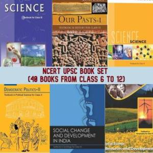 NCERT Books Set For UPSC (English)