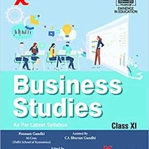 Business Studies (By Poonam Gandhi) CBSE Class 11 Book