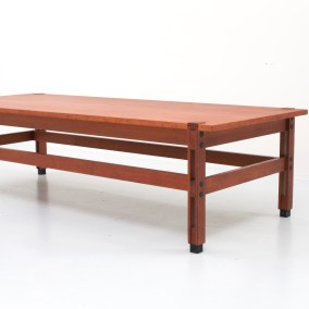 Ico Parisi 'Tivoli' Coffee Table in Teak for MIM Roma , Italy, 1958