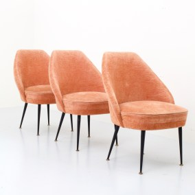 set-of-three-campanula-loungechairs-in-pink-velvet-by-carlo-pagano-for-arflex-italy-1952