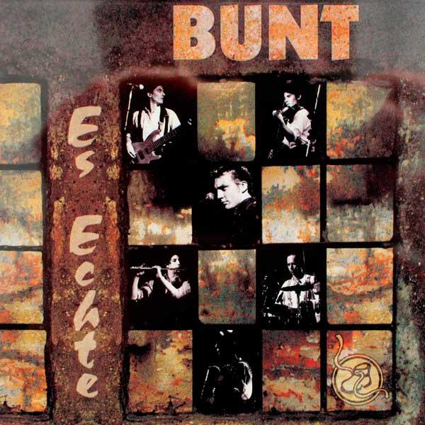 """Cover der CD """"Es Echte"""" des Band BUNT des Songwriters Ulrich Zehfuß"""
