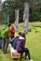 Haid Totem Poles, Sgang Gwaay