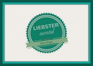 Der Liebste Blog Award: Eine grüne Plakette mit der Aufschrift Liebster award New Blogs!